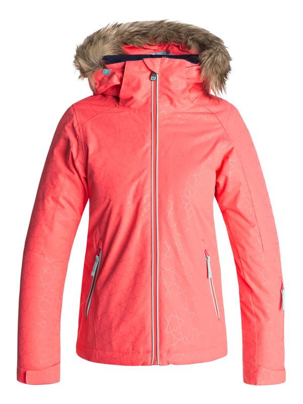 0 Сноубордическая куртка Jet Ski Оранжевый ERGTJ03039 Roxy