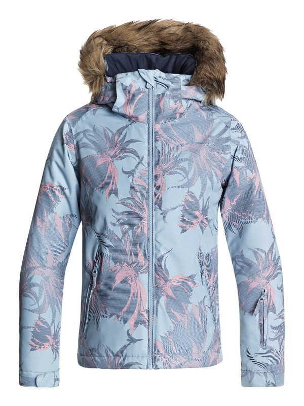 0 Girls 7-14 American Pie Snow Jacket Blue ERGTJ03054 Roxy