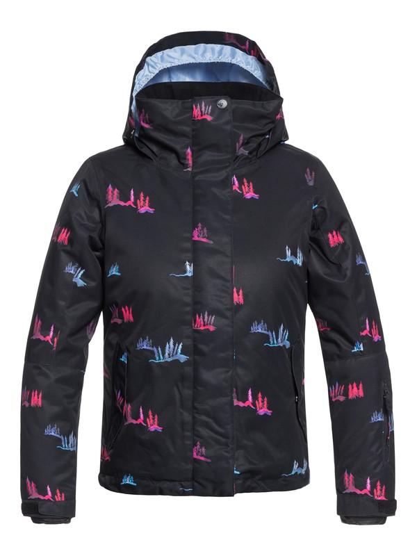 0 Girl's 7-14 ROXY Jetty Snow Jacket Black ERGTJ03058 Roxy
