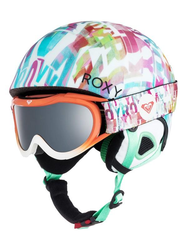 0 Girls 7-14  Misty Helmet and Goggle Set  ERGTL03001 Roxy
