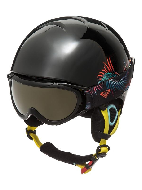 0 Misty - Helm und Goggle Set Schwarz ERGTL03001 Roxy