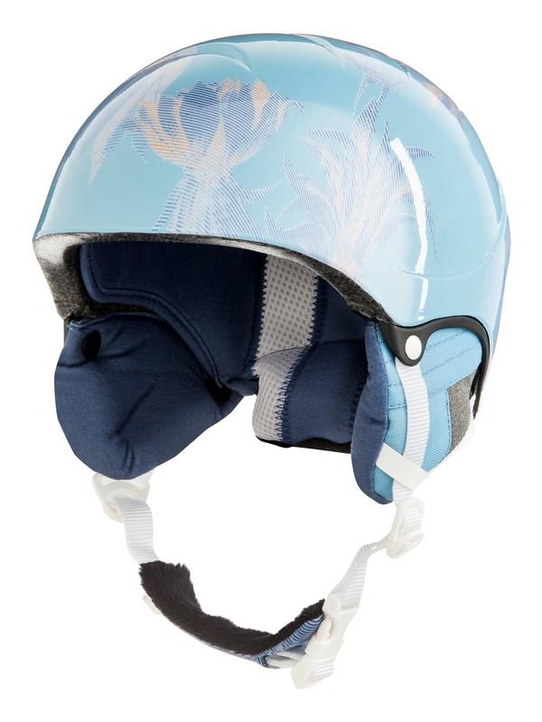 0 Misty - Casque de snowboard/ski pour Fille 8-16 ans Bleu ERGTL03012 Roxy