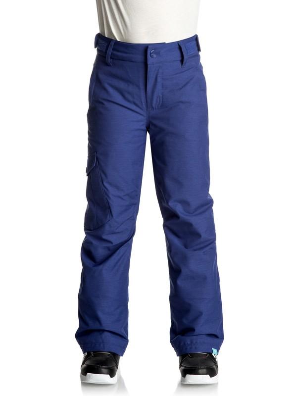 0 Tonic - Snow-Hose Blau ERGTP03010 Roxy