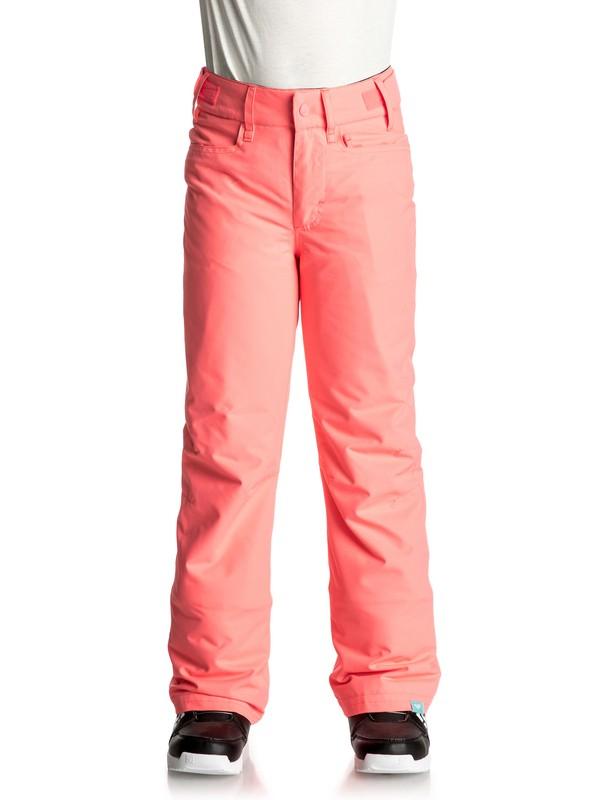 0 Backyard - Snow-Hose Orange ERGTP03012 Roxy