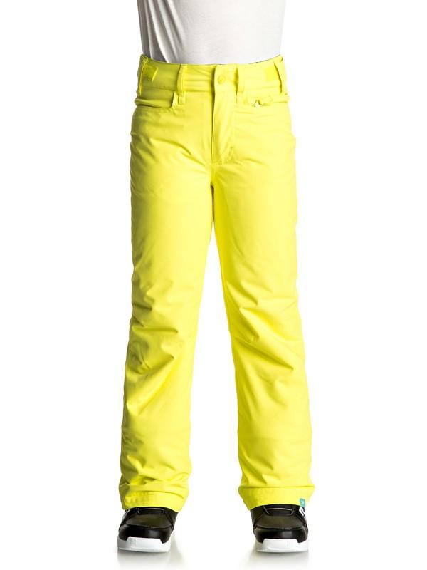 0 Backyard - Pantalon de snow Jaune ERGTP03012 Roxy
