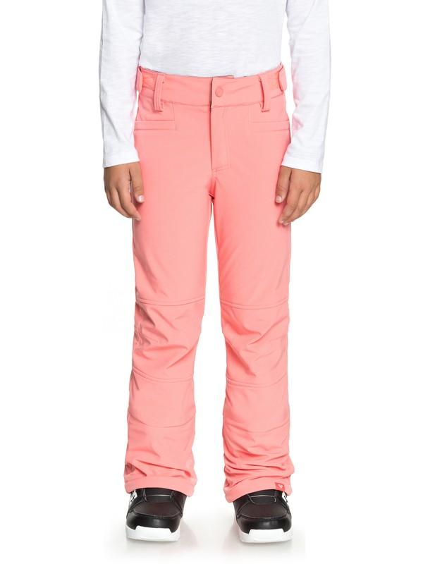 0 Girl's 7-14 Creek Snow Pants Pink ERGTP03013 Roxy
