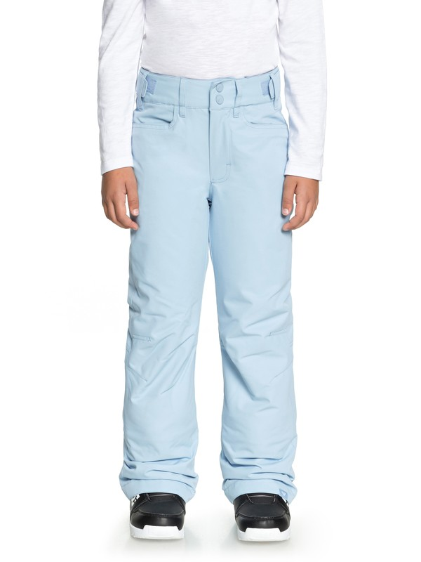 0 Girl's 7-14 Backyard Snow Pants Blue ERGTP03015 Roxy