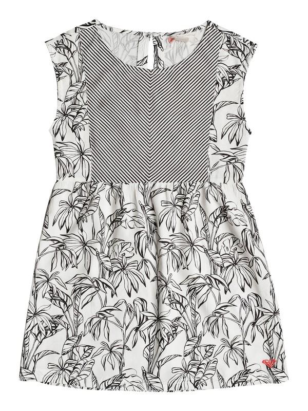 0 Girl's 7-14 Ambitious Queen Sleeveless Dress  ERGWD03031 Roxy