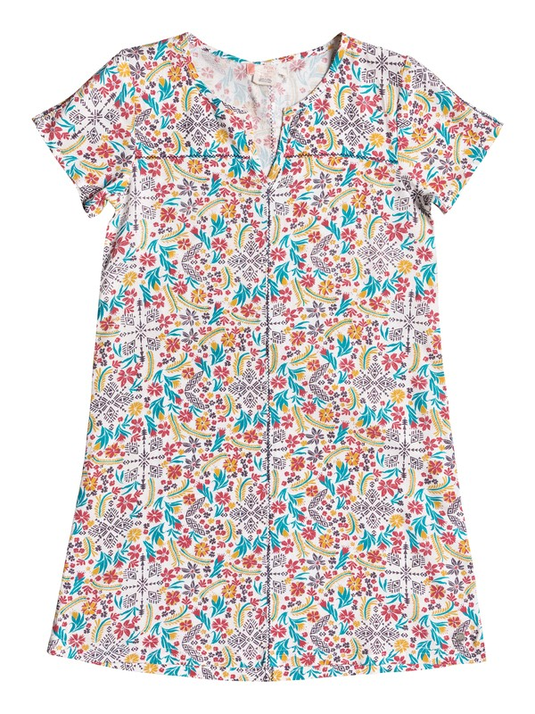 0 Girls 7-14 Exclusive Protection Short Sleeve Dress  ERGWD03036 Roxy