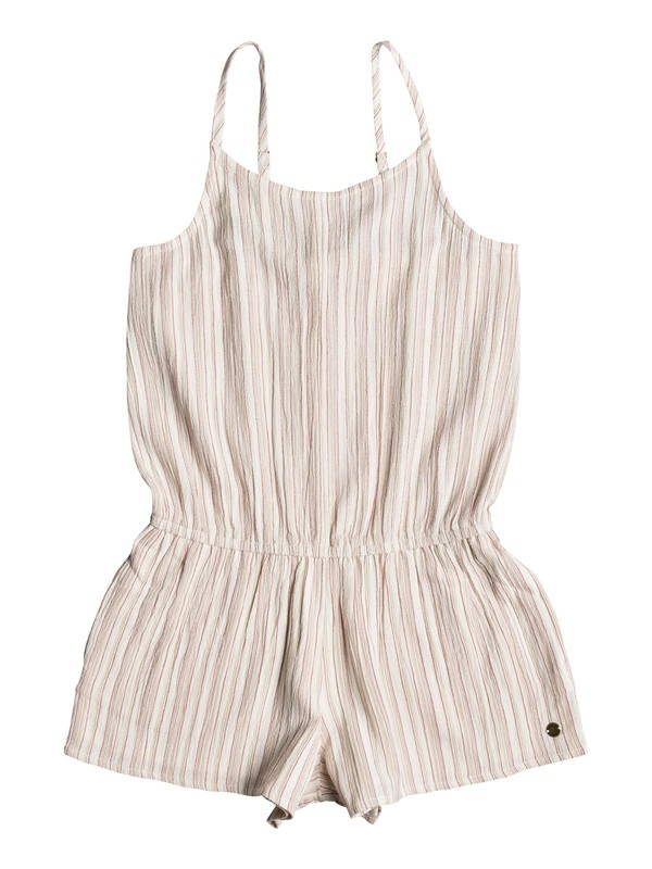 0 Girls 7-14 All My Dreams Strappy Romper White ERGWD03042 Roxy