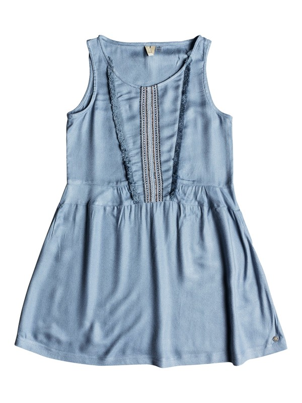 0 Girls 7-14 Pretty Poet  Tank Dress Blue ERGWD03044 Roxy