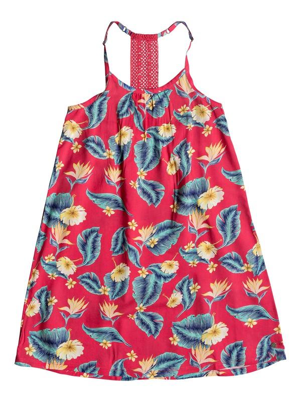 0 Exotic Nature - Vestido de Tiras para Chicas 8-16 Rosa ERGWD03071 Roxy
