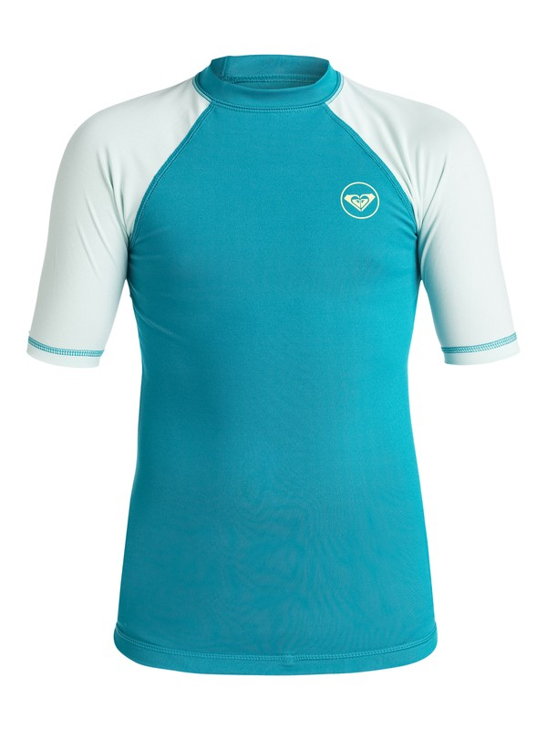 0 Girls 7-14 Sea Bound Rashguard  ERGWR03002 Roxy