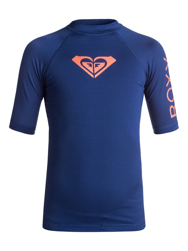 0 Whole Hearted - Lycra à manches courtes anti-UV Bleu ERGWR03006 Roxy