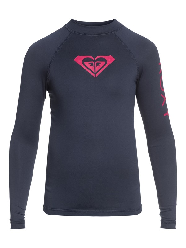0 Whole Hearted - Long Sleeve UPF 50 Rash Vest Blue ERGWR03081 Roxy