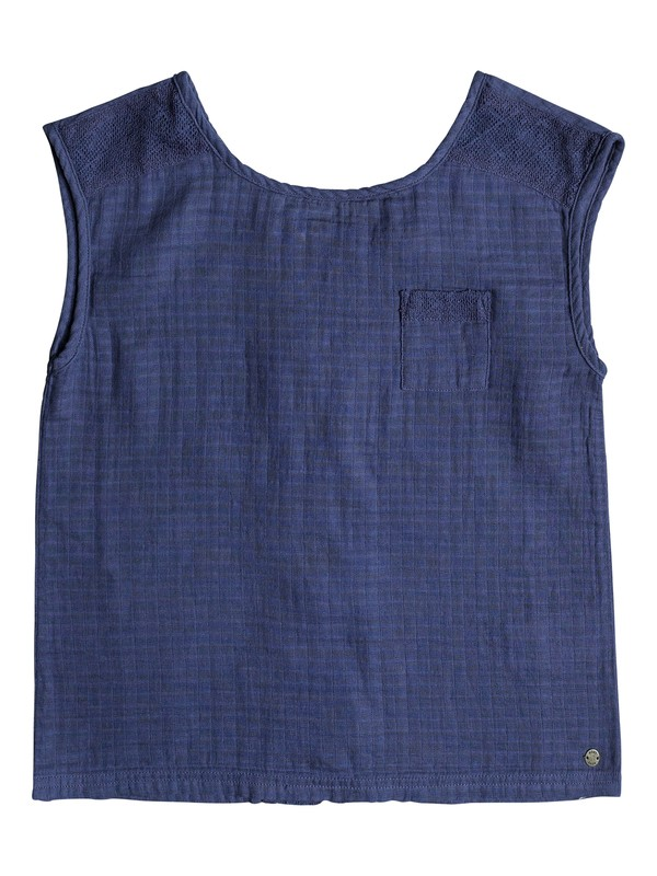 0 Girls 7-14 Raise It Up Button Back Sleeveless Top  ERGWT03025 Roxy