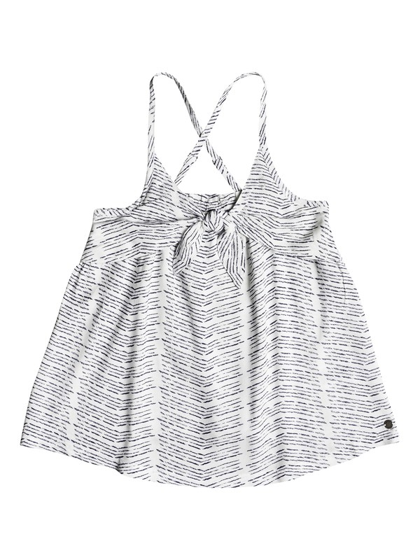 0 Girl's 7-14 Defeat My Limits Strappy Top White ERGWT03038 Roxy