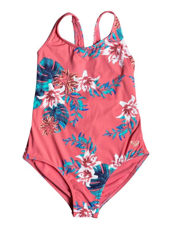 0 Girl's 7-14 ROXY Day Dream One-Piece Swimsuit Pink ERGX103046 Roxy