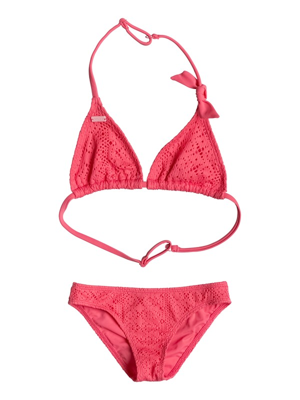0 Girls 7-14 Girly ROXY Bikini Set  ERGX203058 Roxy