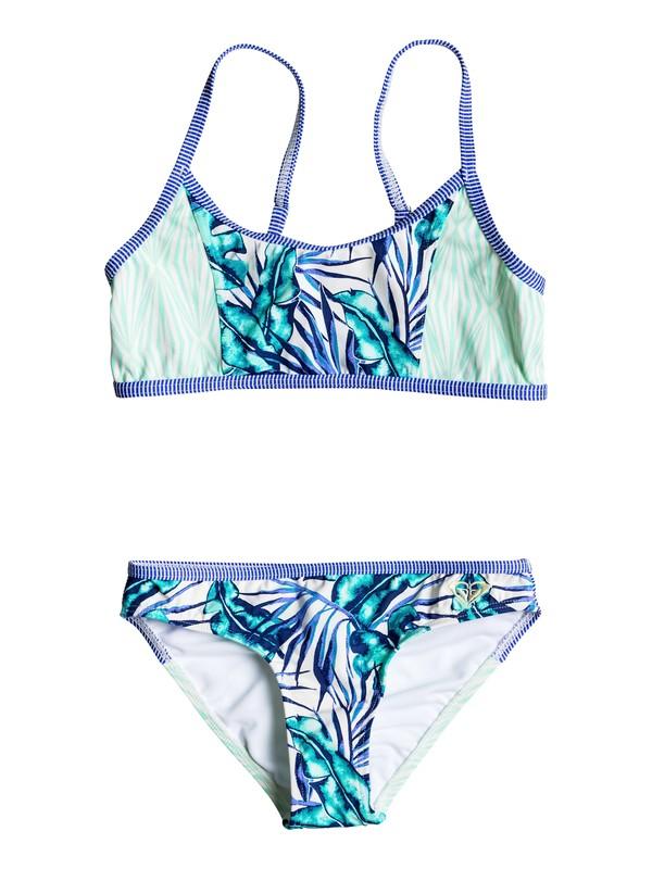 0 Girls 7-14 Geo Mix' In Athletic Bikini Set  ERGX203062 Roxy