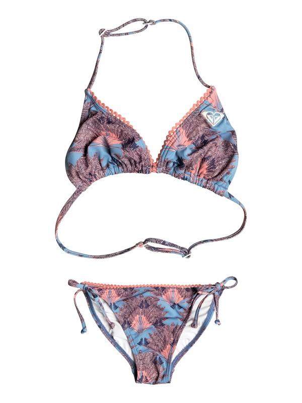 0 Girls 7-14 Cuba Girl Tri Bikini Set  ERGX203080 Roxy