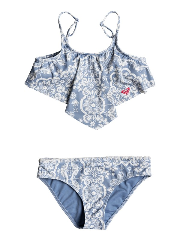 0 Girls 7-14 Nautical Summer  Bandana Bikini Set  ERGX203136 Roxy