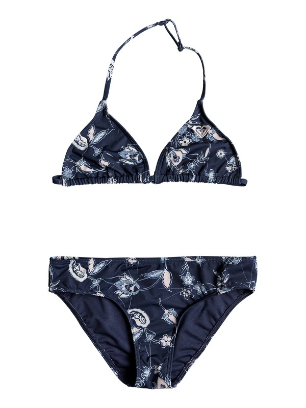 0 Beach Days - Bikini Tiki Tri pour Fille 8-16 ans Bleu ERGX203141 Roxy
