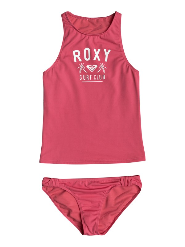 0 Girls 7-14 Need The Sea  Tankini Set  ERGX203142 Roxy