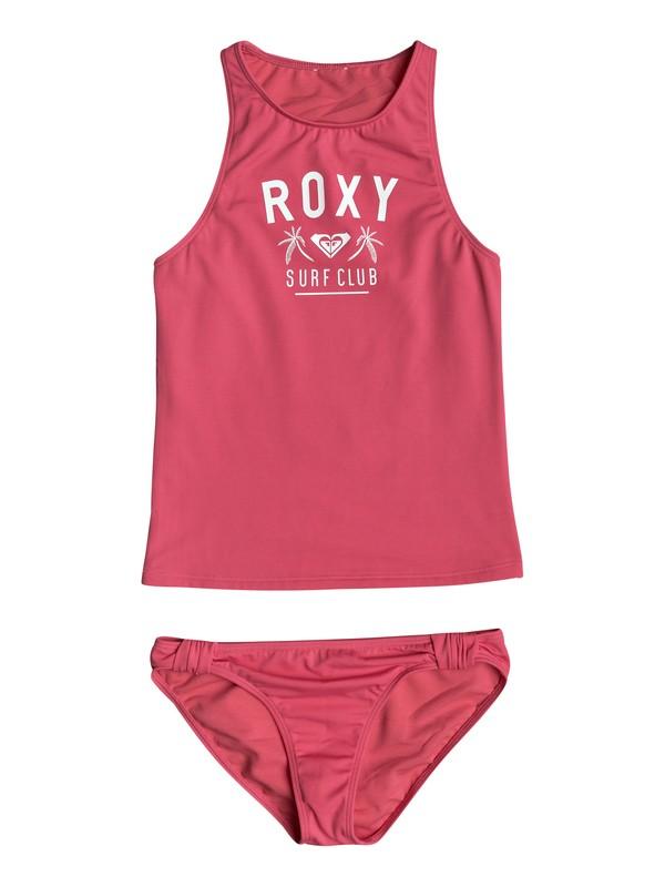 0 Girl's 7-14 Need The Sea Tankini Set Pink ERGX203142 Roxy
