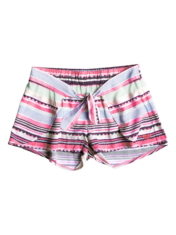 0 Girls 7-14 Little Indy Beach Shorts  ERGX603005 Roxy