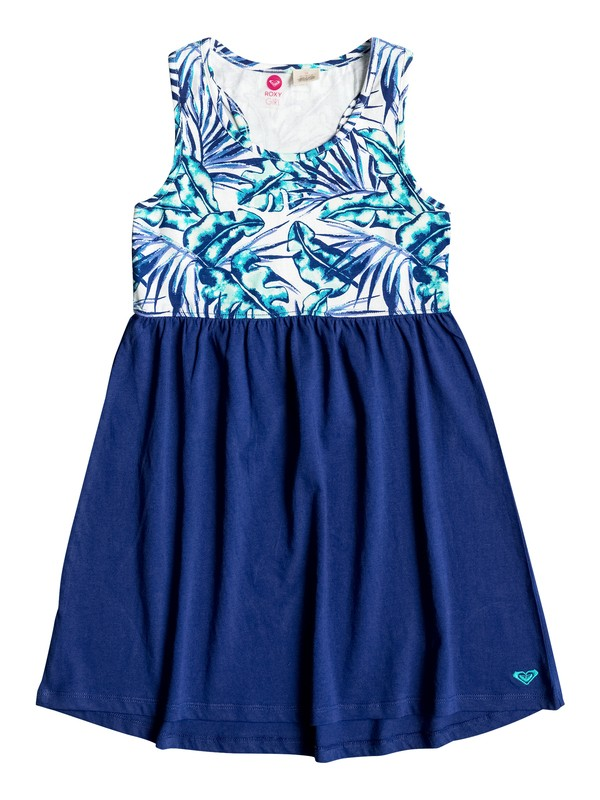 0 Girls 7-14 Geo Mix' In Racerback Beach Dress  ERGX603007 Roxy