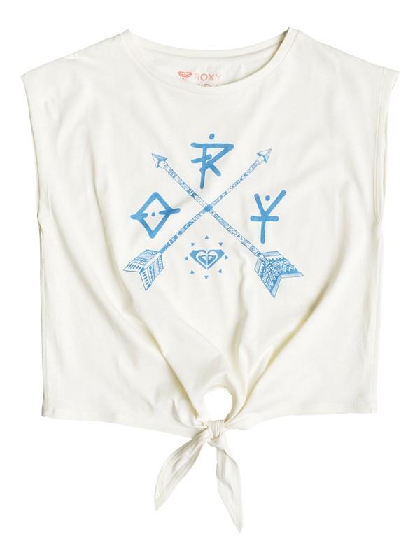 0 Rock The Night - T-shirt sans manche Blanc ERGZT03074 Roxy
