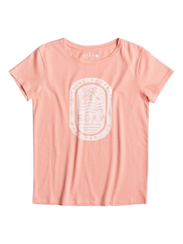 0 Crew Stamp Paradise - Tee-Shirt  ERGZT03109 Roxy