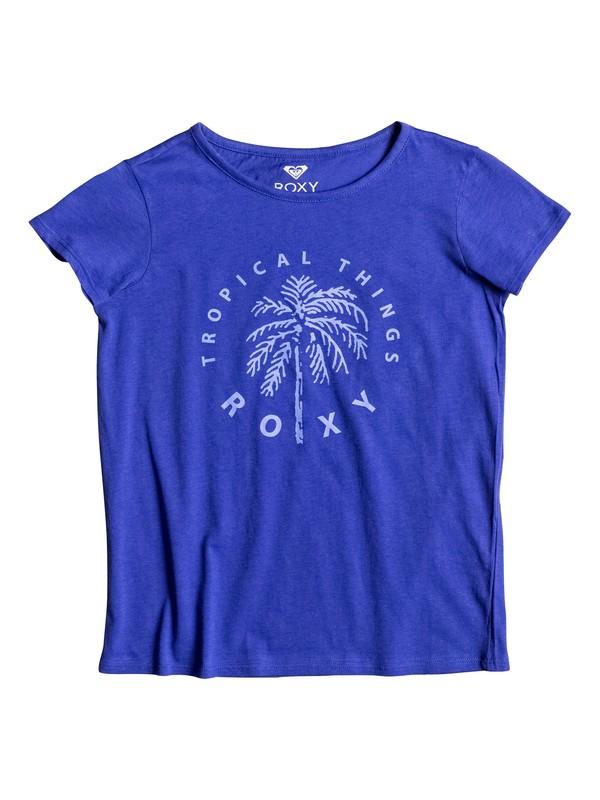 0 Galaxy Light Tropical Things - Tee-Shirt  ERGZT03161 Roxy