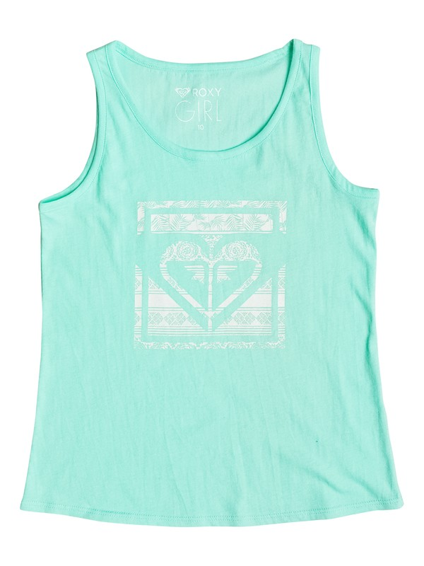 0 Niñas 7-14 Camiseta Tipo Tank  Heart  Rainy Night Tropical  ERGZT03164 Roxy