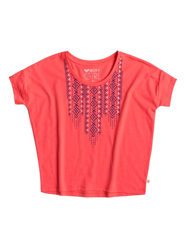 0 Little Y Geo - T-Shirt Orange ERGZT03182 Roxy