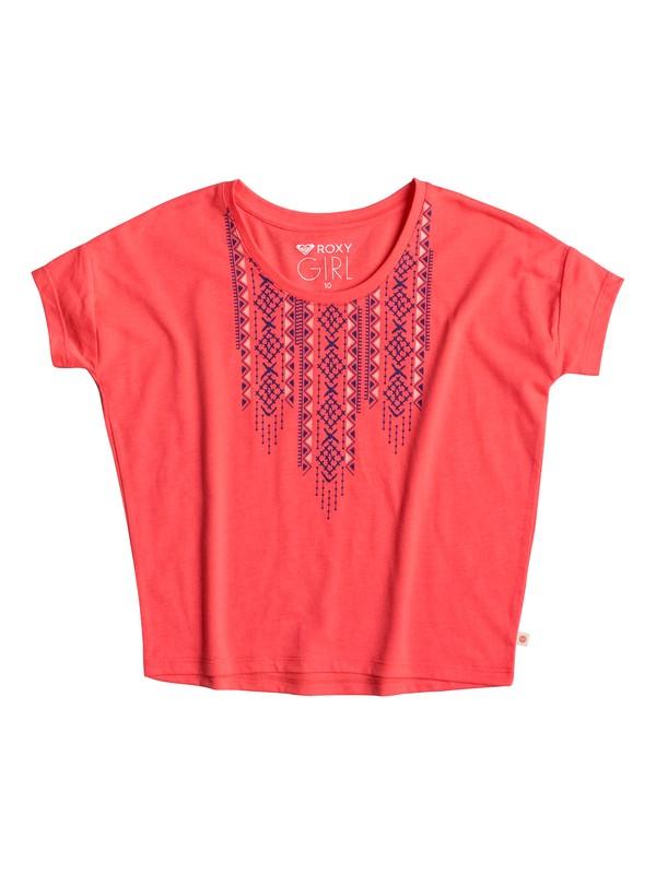 0 Little Y Geo - T-Shirt Orange ERGZT03182 Roxy