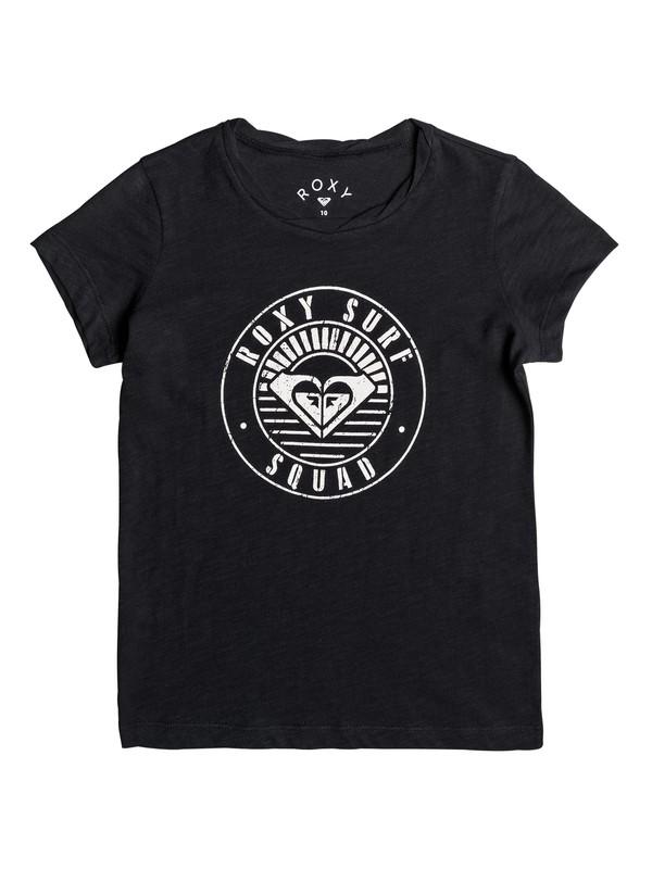 0 Floating Bubble A - T-Shirt Black ERGZT03212 Roxy