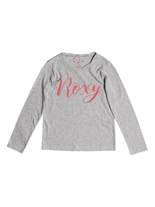 0 Gradual Awakening B - Long Sleeve T-Shirt Grey ERGZT03216 Roxy