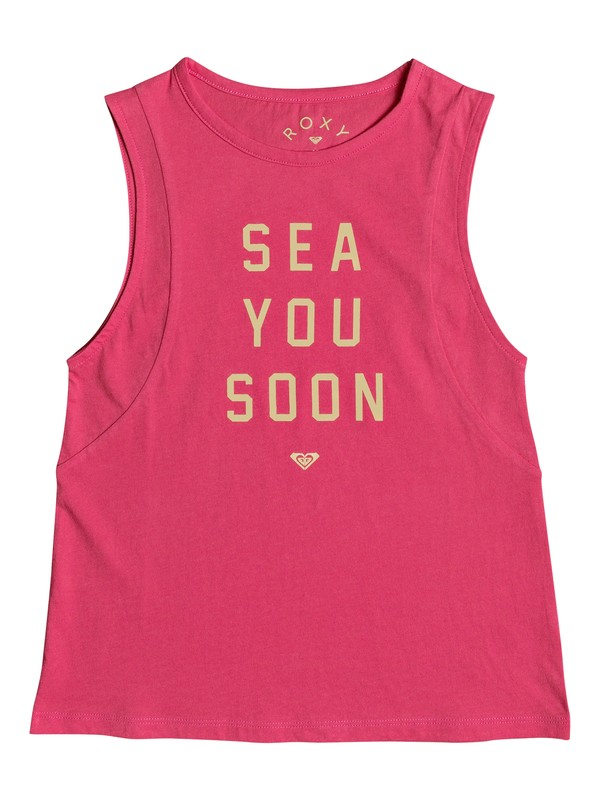0 A Smooth Sea - Vest Top for Girls 8-16 Pink ERGZT03268 Roxy