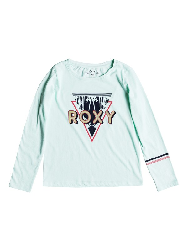 0 Girls 7-14 Lost In Dream Diamond Corpo  Long Sleeve Tee Blue ERGZT03282 Roxy