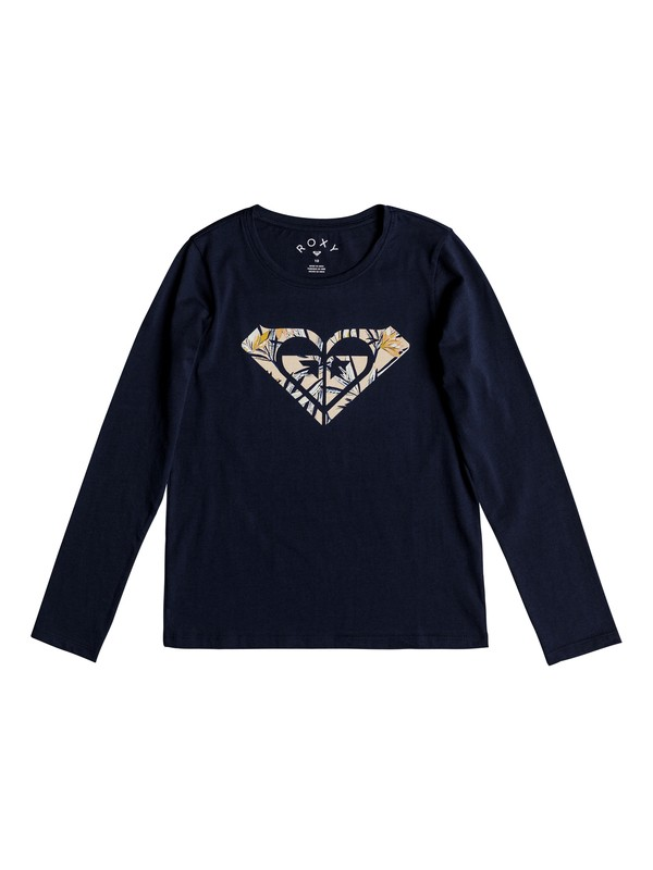 0 Gradual Awakening - Long Sleeve T-Shirt for Girls 8-16 Blue ERGZT03326 Roxy