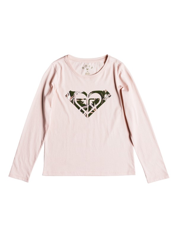 0 Gradual Awakening - Long Sleeve T-Shirt for Girls 8-16 Pink ERGZT03326 Roxy