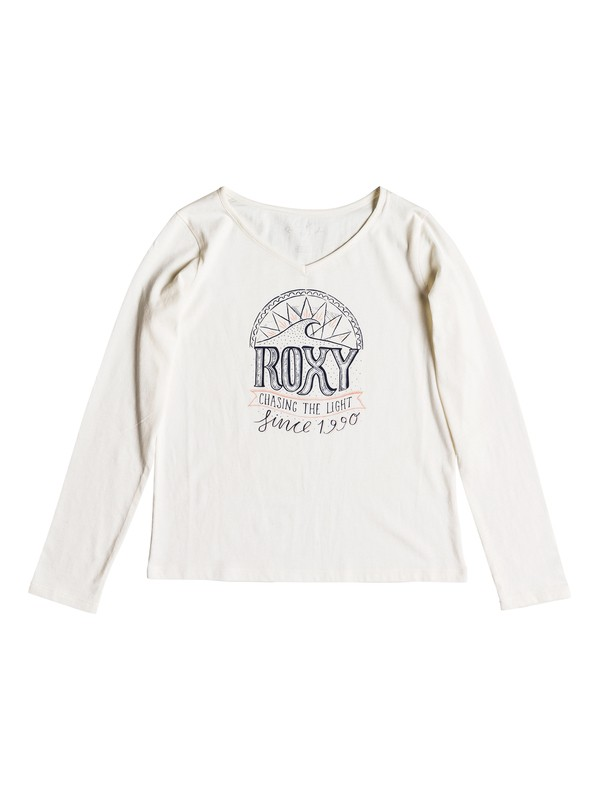 0 Say Something - T-shirt manches longues pour Fille 8-16 ans Blanc ERGZT03332 Roxy
