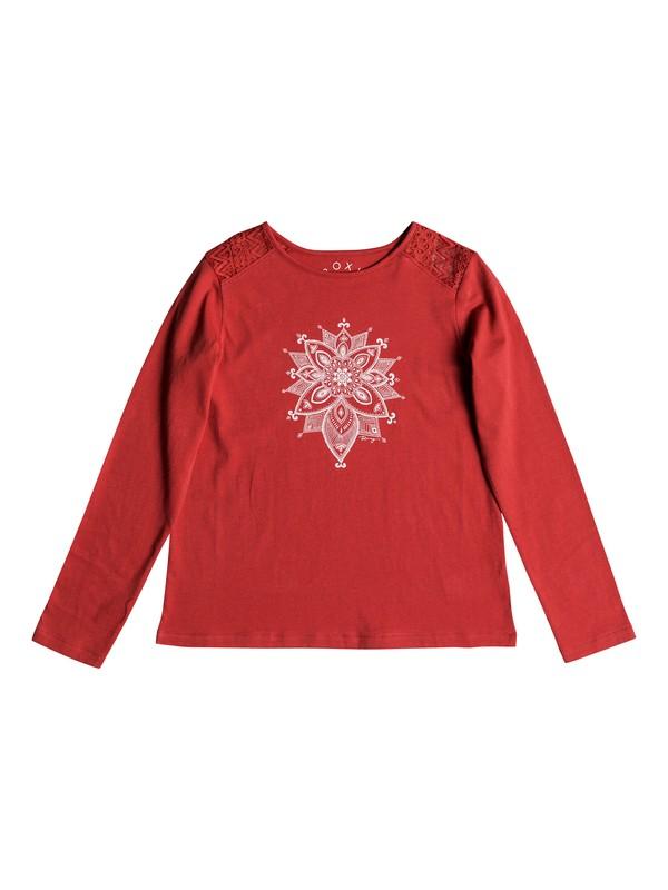 0 Good Evening - T-shirt manches longues pour Fille 8-16 ans Rose ERGZT03335 Roxy