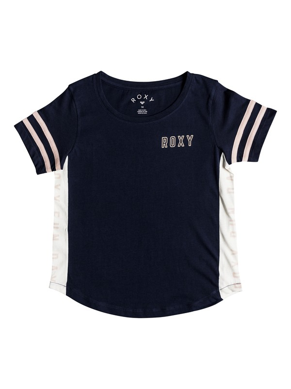 0 Lucky You - T-shirt col rond pour Fille 8-16 ans Bleu ERGZT03336 Roxy