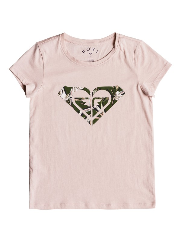 0 Dream Another Dream Dream Big - T-Shirt for Girls 8-16 Pink ERGZT03340 Roxy