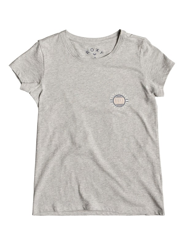 0 Dream Another Dream Circle Scrip - T-shirt col rond pour Fille 8-16 ans Gris ERGZT03342 Roxy