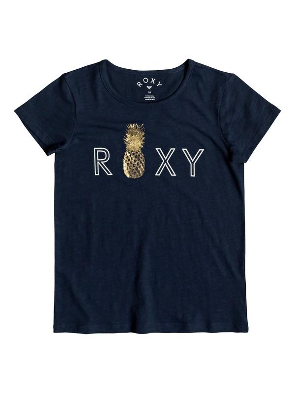 0 Stars Dont Shine - Camiseta para Chicas 8-16 Azul ERGZT03391 Roxy