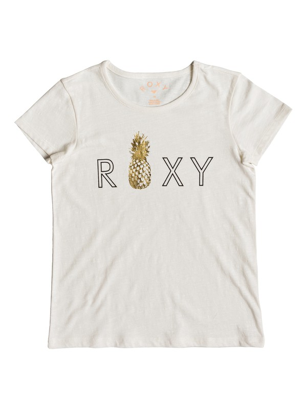 0 Stars Dont Shine - Camiseta para Chicas 8-16 Blanco ERGZT03391 Roxy